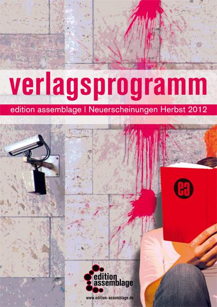 Titelcover Vorschau Herbst 2012 edition assamblage