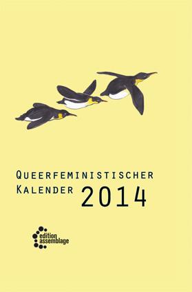 Cover Queerfeministischer Kalender 2010