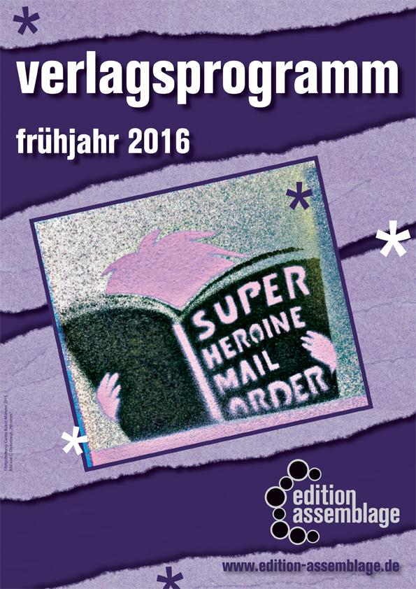 Vorschau Frühjahr 2016 - edition assemblage